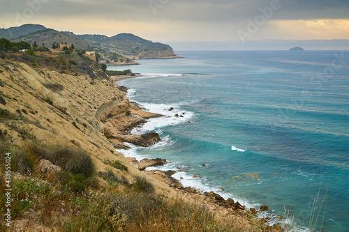 Costa norte de Villajoyosa (Alicante)