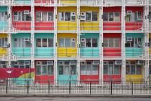 Modular Social Housing Project, Nam Cheong Street, Hong Kong 29 May 2021