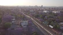 Aerial View Of Pretoria Central And Downtown Neighbourhoods
