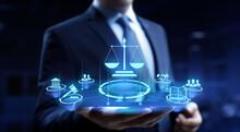 Labor Law Lawyer Legal Advocate Business Finance Concept.