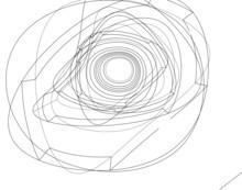 Architecture Digital Background 3d Illustration