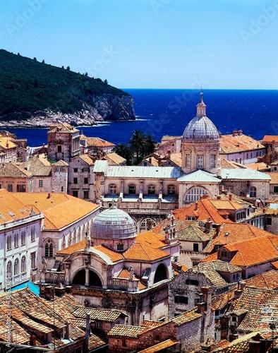 Foto croatia, dubrovnik, old town, dom velika gospa, city, city view, seaside resort,