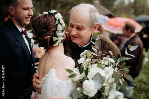 Foto bride and groom
