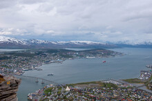 Norwegian Landscapes From The Mountain Tops And The Sea