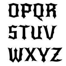Vintage Set Capital Letters, Logo Alphabet Monograms And Beautiful Filigree Font. Art Deco, Nouveau, Modern Style