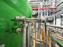 Level Transmitter By Pressure Transmitter Type Was Installed In Power Plant For Monitor And Control Level Tank.