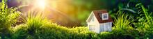 Conceptual Eco Home Healthy Living