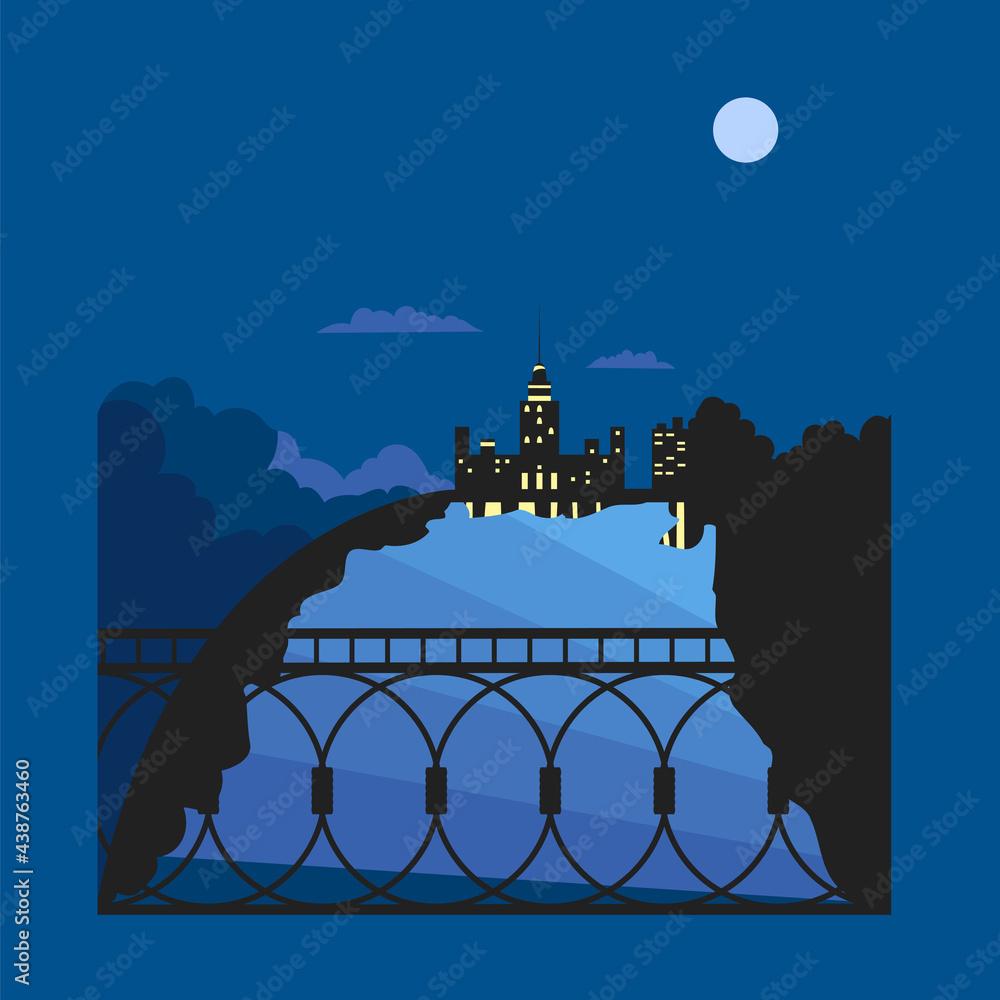 Fotografie, Obraz night city