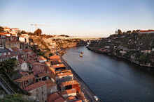 Red Tiled Roofs Of The City Of Porto Portugal
