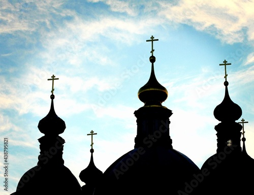 Foto domes of church