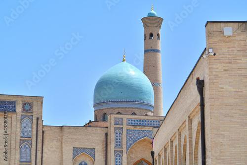 Fotografía Mosque, beautiful mosque, mosque in tashkent, architecture, mosque, taj mahal, t