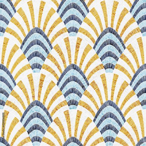 Tapety Klasyczne  haftowany-wzor-falisty-ozdoba-seigaiha-w-stylu-patchwork-ilustracja-wektorowa