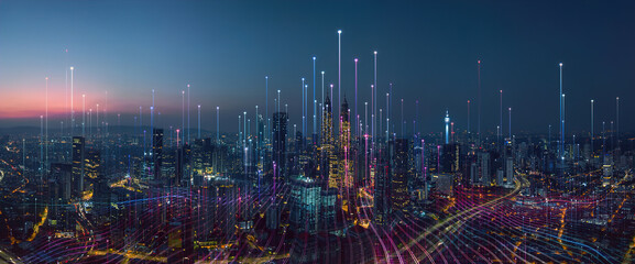 abstract Smart city
