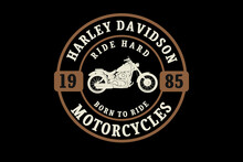 Harley Davidson Motorcycles Color Cream And Brown