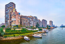 Riverside Living Quarters In Giza, Egypt