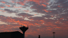 Red Sky Sunset