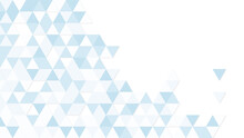 Simple Background Image Of Blue Triangle