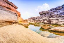 """Sam Phan Bok""  Grand Canyon Of Thailand, Ubon Ratchathani, Thailand"