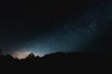 Fototapeta Na sufit - Niebo gwieździste w Bieszczadach