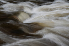 Stunning Fine Art Collection Of Landscape Images Of Long Exposure Detail Of Fast Flowing Water Over Rocks In River