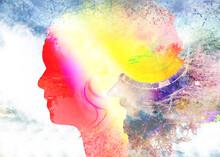 Profile, Head, Silhouette, Face, Mozayka, The Head Of The Person