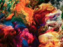 Unfolding Of Paint Flow