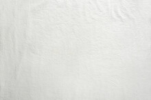 Off White Cotton Textile Background. Flat Lay, Top View, Textured Textile Backdrop. Copy-space, Place For Text On Fabrique.
