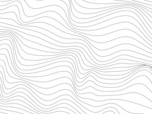Warped Gray Lines.Wavy Gray Lines Made For Wallpaper Design.Overlay Gray Lines.