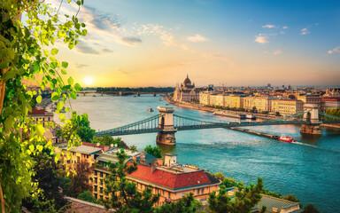 View of Budapest landmarks