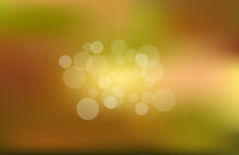 Colorful Bokeh Background Blur,holiday Wallpaper. Abstract Background Summer, Spring, Autumn .vector Illustration