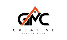 GMC Letters Real Estate Construction Logo Vector