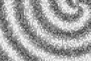 Czarno biała mozaika