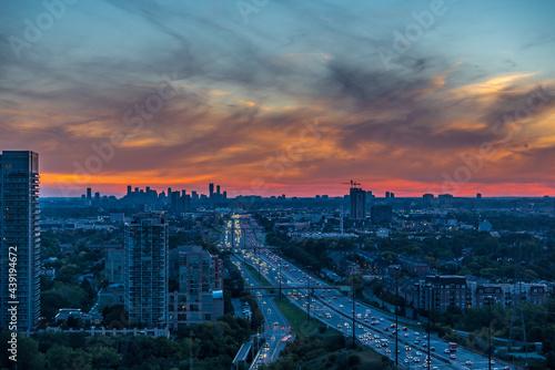 Fototapeta premium City landscape