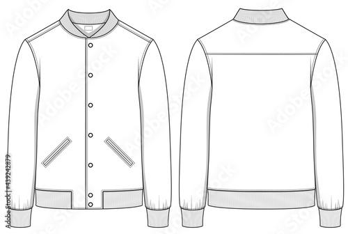 Canvastavla Bomber jacket