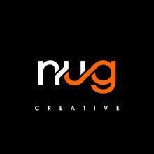NUG Letter Initial Logo Design Template Vector Illustration