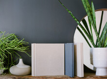 Neutral Blank Book Or Photo Album