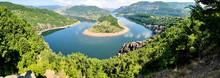Panorama Of Arda River Meander, Bulgaria