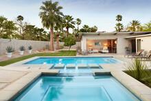 Modern Design Home And Backyard