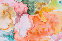 Abstract Watercolour Art