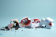 Multiple Vehicle Car Crash
