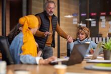 Dispute At Business Meeting