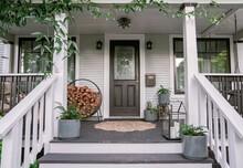 Home Exterior Front Porch