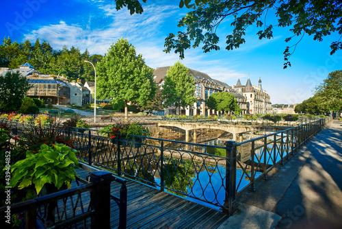 city of quimper in brittany france Fototapet