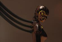 Portrait Of A Connected Robot