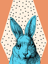Bunny Blue Loves You