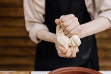 Process Of Kneading Bread Dough