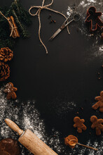 Wallpaper Christmas Cookie Baking
