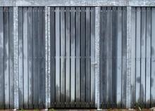 Wooden Door Of Shed