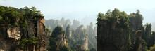 Zhangjiajie National Park Wulingyuan Mountains Forest