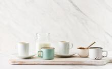 Cups Of Espresso Coffee